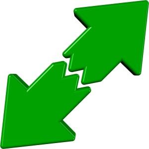 green-arrows