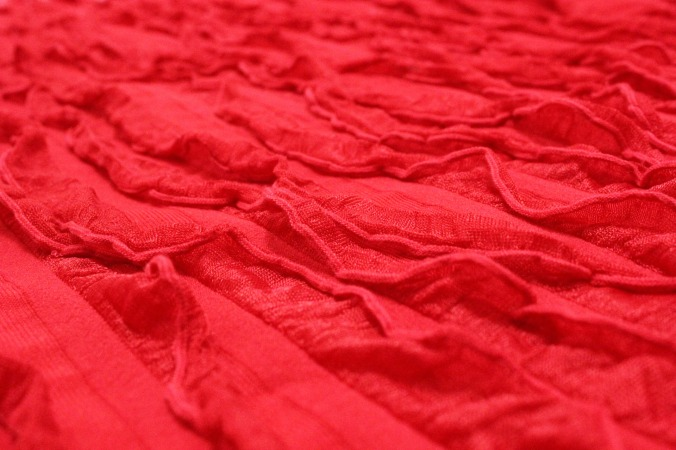 red-textile-background