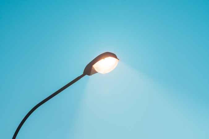 opened light