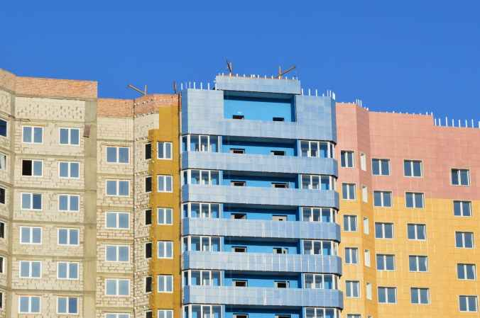 apartments architecture balconies block
