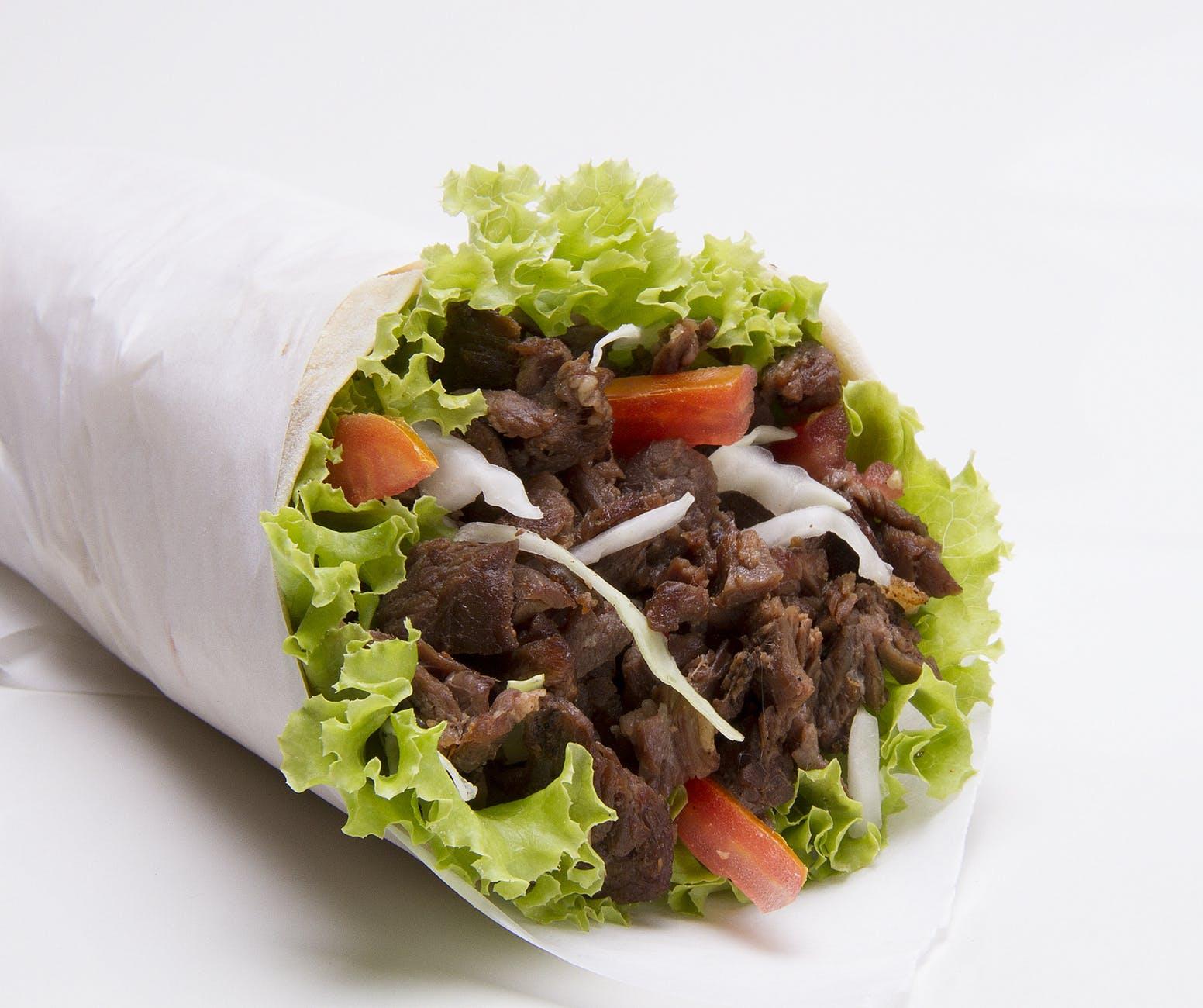 beef burrito cuisine delicious